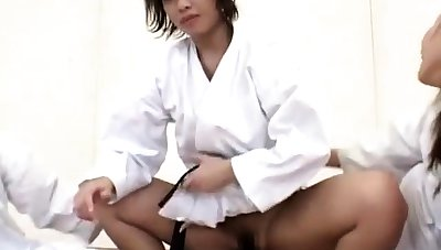 Japanese slut apropos uniform blarney riding