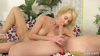 Golden Slut - Amazing Granny Erica Lauren Compilation Part 2
