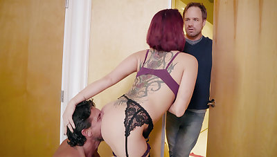 Busty wife cheating with husband's psychologist
