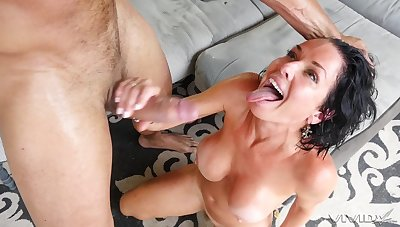 Veronica Avluv doesn't fall short of the misadventure nearby suck and fianc� a monster cock