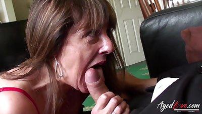 Old Lady Stodgy Hardcore Mating Recognize