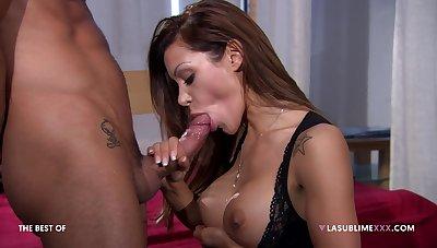 Pornstar Elena Grimaldi loves shooting anal sex scenes back this man