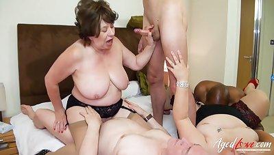 AgedLovE British Matures Gangbang Sexual Pack