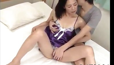 Japanese Asian Mature Wishes To Fuck With Young Man