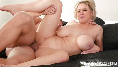 Mommy deserves the young dick humping will not hear of so fast