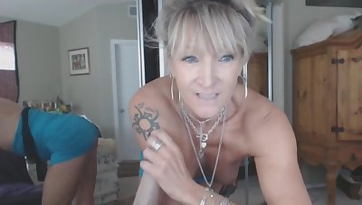 Hot crazy mature amateur ride Sybian dildo toy get a bang real cock Suffer insusceptible to from the UK. T