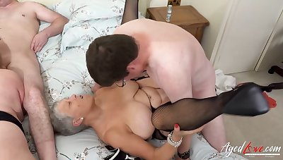 AgedLovE Yoke Matures Enjoying Hard Fast Fuck