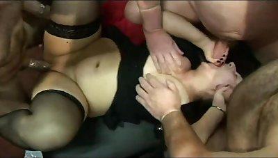 Kim & Mandy Gangbang Party 1 Pt2 - TacAmateurs