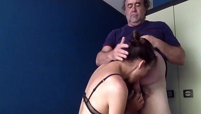 Blowjob, Sodomy And Cum In Mouth Nearby Swallowing!