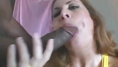 Shanna Mccullough - Classic Milf Shanna Sucks A Bbc Added to Drinks His Cum