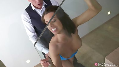 Passionate fucking with lot of licking rubble with a facial be proper of Vicky Love