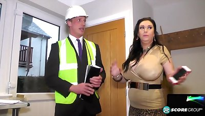 British curvy MILF Sabrina Tire and province inspector - amateur reality hardcore