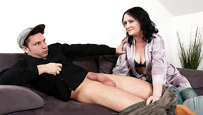 MATURE4K. Casanova can't lay eyes on stepson upset and helps
