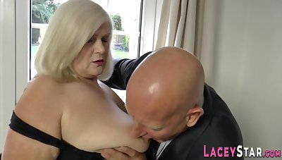 Grown-up Floozy Gets Anally Fucked - Obese tits