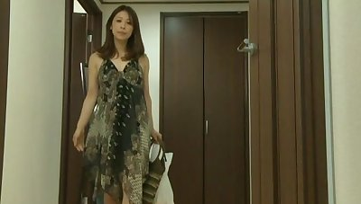 Unique Japanese wife drops say no to panties to pleasure say no to cravings