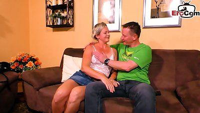 German saggy tits mature housewife