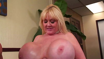 Of age MILF with mega breast - oustandingly breast - sizzling cougar