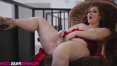 BBW whore incredible awfully hot solo clip