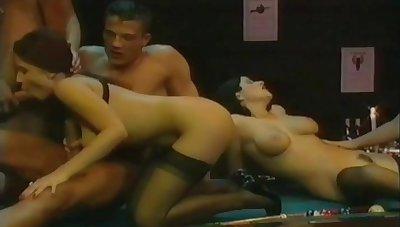 Retro porn scene sex orgy video