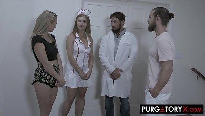 PURGATORYX Fertility Clinic Vol 1 Part 2 with Skylar added to Adira - Adira allure